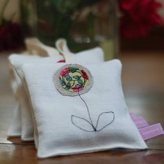handmade decorative lavender bag by handmade at poshyarns | notonthehighstreet.com