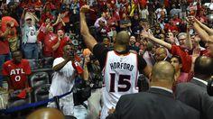Al Horford's shot in final seconds gives Hawks 3-2 lead over Wiz Atlanta Hawks  #AtlantaHawks