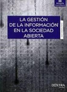 La gestión de la información en la sociedad abierta