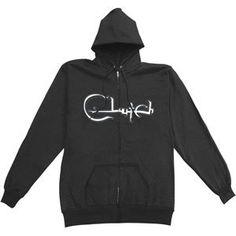 Clutch - Hooded Sweatshirts - Zippered Band