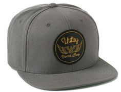 Wing snapback cap by UTILITY BOARD SUPPLY