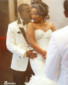 Precious shot. Photography by @rhphotoarts. #africansweetheartweddings #wedding #brideandgroom