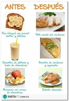 Si practicas ejercicios, estos son los alimentos que debes incluir en tu dieta
