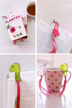 Peepa Pig, Diy Marque Page, Diy For Men, Bookmarks, Animation, Activities, Tableware, Centre, Sweet