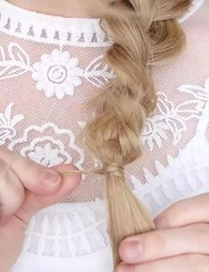 """French braid? Bo-ring! That's the one hairstyle that makes every girl say """"been there, done that."""" But hold your horses for just a moment! Bump Hairstyles, Braided Hairstyles, Side French Braids, Every Girl, Updos, Horses, In This Moment, Hair Styles, Up Dos"""