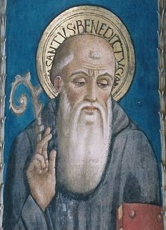 Image result for icon st. benedict
