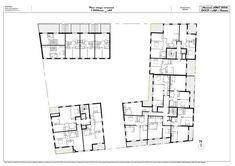 plan du second tage architecture logements collectifs plots pinterest logement foyer et. Black Bedroom Furniture Sets. Home Design Ideas