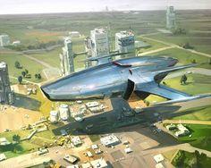 Art by J.C Park #sciencefiction #scifi