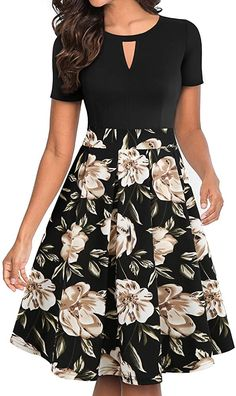 Mothers Day Dresses, Girls Party Wear, Casual Party Dresses, Stylish Dresses, Ball Gown Dresses, Women's Dresses, Fit N Flare Dress, Business Dresses, Look Chic