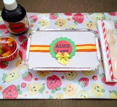 Kit festa escolar personalizados com tema de Frutinhas - www.clakeka.blogspot.com