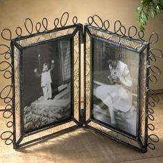 The fun and #whimsy look of this frame would look beautiful with a couple of #photos of your #summer fun displayed in them! J. Devlin Pic 312-2 2.5x3.5 Double Vertical
