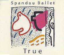 """Nov. 14th, 2013: """"True"""" is a song by the British band Spandau Ballet, released in April 1983. The song was a huge worldwide hit, peaking at number one in the UK for four weeks in the spring of 1983, becoming the sixth biggest selling single of the year, and charting highly in 20 other countries. It is Spandau Ballet's biggest hit and their most remembered song in the U.S., reaching number four on the Billboard Hot 100 in the autumn of 1983 and topping the adult contemporary chart for one week.."""