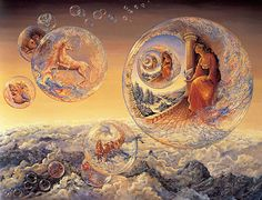 Josephine Wall Bubbles of Freedom