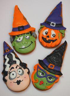 Cookievonster Halloween 2012 custom cookies