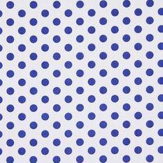 Cobalt blue dots