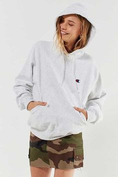 Shop Champion Reverse Weave Logo Hoodie Sweatshirt at Urban Outfitters today. We carry all the latest styles, colors and brands for you to choose from right here. Hoodie Sweatshirts, Crew Neck Sweatshirt, Hoodies, Basic Outfits, Casual Outfits, Cute Outfits, Urban Outfitters, Sweat Shirt, Everyday Outfits