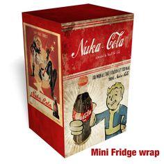 Nuka-Cola - Fallout Mini Fridge Wrap – Rm wraps Store