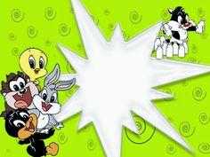 Baby Looney Tunes Invitation Best Of Baby Looney Tunes Free Printable Invitations or Cards Free Baby Shower Invitations, Baby Sprinkle Invitations, Printable Baby Shower Invitations, Baby Shower Invites For Girl, Halloween Invitation Wording, Halloween Party Invitations, First Birthday Invitations, Looney Tunes Bebes, Looney Tunes Party