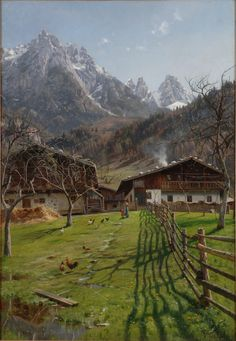 Salzburg (Austria), 1899, Peder Mørk Mønsted