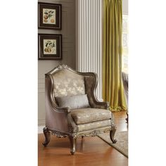 House of Hampton Sorinne Wingback Arm Chair
