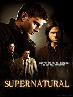 Supernatural Season 8 fan Poster by FastMike