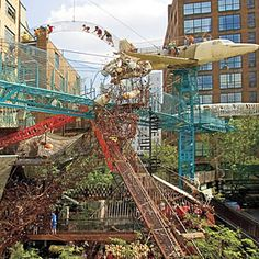 The City Museum in St. Louis is made with kids in mind but adults will love it just as much! St Louis Mo, Missouri St Louis, Vacation Destinations, Vacation Spots, Vacations, Saint Louis City Museum, Weekend Trips, Summer Travel, Southern Living