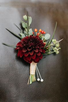 , Dahlia corsage grown and designed by Love 'n Fresh Flowers. Photo by Emily Wren. , Dahlia corsage grown and designed by Love 'n Fresh Flowers. Photo by Emily Wren Photography. Prom Flowers, Fall Wedding Flowers, Pretty Flowers, Fresh Flowers, Floral Wedding, Blue Wedding, Flowers Uk, Flowers Garden, Exotic Flowers