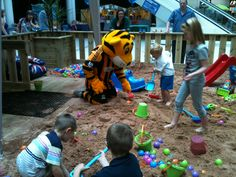 Free Beach Play daily Monday - Sunday 10am - 5pm at Princes Quay Shopping Centre.