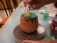 We've stocked a new type of glaze at Your Creation Station called Magic Flow.  The glazes create the effect you would see on a piece of ash glazed pottery, with rivulets of glaze running down…