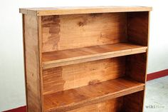 How to Build Wooden Bookshelves: 7 Steps - wikiHow