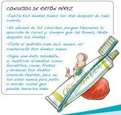 El Ratón Pérez, historia y juegos Dental Kids, School Themes, Tooth Fairy, Dental Health, Spanish, Preschool, Parenting, Printables, Album