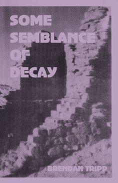 Some Semblance Of Decay, Brendan Tripp, ISBN: 978-1-57353-028-6, #books #poetry #btripp