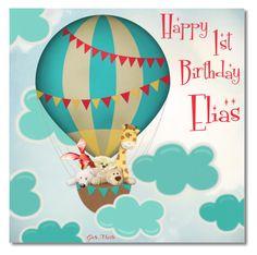 """❤❤❤ Happy Birthday My Cute  Little Elias  ! ! ! ❤❤❤"" by greta-martin ❤ liked on Polyvore featuring art, birthday, happybirthday and artset"