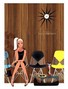 Eames Eiffel Tower Base Chairs  Monsieur Z