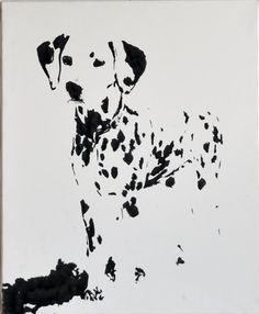 Dalmatian in Sumi <-- Great inspirational piece :)