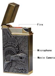 Coolest latest gadgets – Spy Camera Lighter DVR – New technology gadgets – High tech electronic gadgets Gadgets Électroniques, Cool Electronic Gadgets, New Technology Gadgets, High Tech Gadgets, Latest Gadgets, Electronics Gadgets, Cool Lighters, Spy Gear, Spy Camera