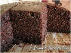 Steamed chocolate cake by meiteoh, via Flickr