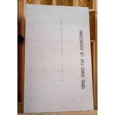 James Hardie HardieBacker 3 ft. x 5 ft. x 0.42 in. Cement Backerboard