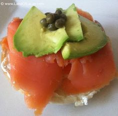 Avocado & Lox Bagel Recipe!  Come to Bagels and Bites Cafe in Brighton, MI for all of your bagel and coffee needs! Feel free to call (810) 220-2333 or visit our website www.bagelsandbites.com for more information!