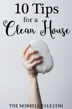 Keeping a house clean can seem daunting. But, with these simple 10 tips, you can constantly keep your house looking AND smelling clean all the time!  How I Make My Apartment Look & Smell Clean http://themorrelltale.com/make-apartment-look-smell-clean/
