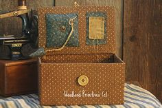 $57 Civil War Make-do Sewing Box