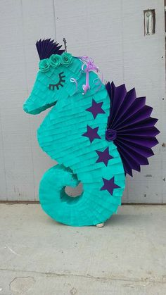 Mermaid Birthday Decorations, Mermaid Party Favors, Mermaid Theme Birthday, Little Mermaid Birthday, Little Mermaid Parties, Birthday Centerpieces, Mermaid Pinata, Mermaid Diy, Under The Sea Party