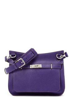 f855b8af8bf Vintage Hermes Leather Jypsiere 28 (Stamp  Square N) Shoulder Bag by LXR on