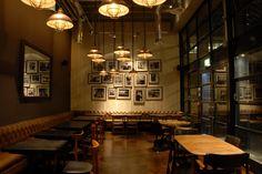 Light + Design - London Wall Bar Kitchen, London