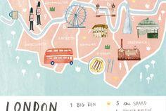 London - Livi Gosling Illustration