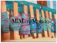 Webband-Aufbewahrung von MiMaraMundo {woven ribbon storage idea}