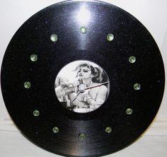 MADONNA Vinyl Record Wall Clock by PandorasCreations on Etsy, $28.00