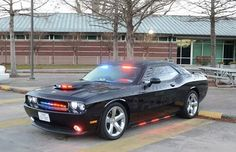 Dodge Challenger police car - Alvin, Texas yes please. totes get to work with the quickness!