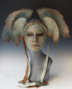 Aegean Goddess by TheArtOfTheMask on Etsy https://www.etsy.com/listing/234274699/aegean-goddess