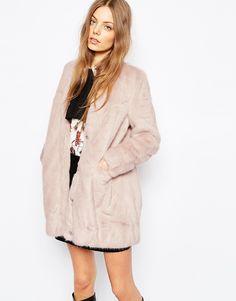 Urbancode+Faux+Fur+Cardigan+with+Pockets